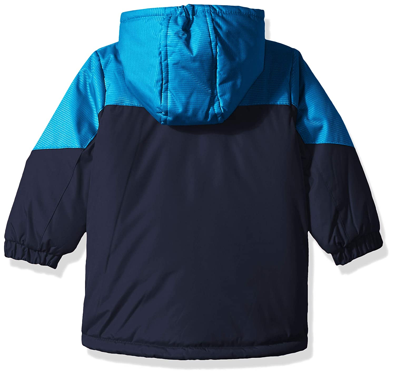 Wippette Boys Striped Ski Jacket WB613147-NVY--12M