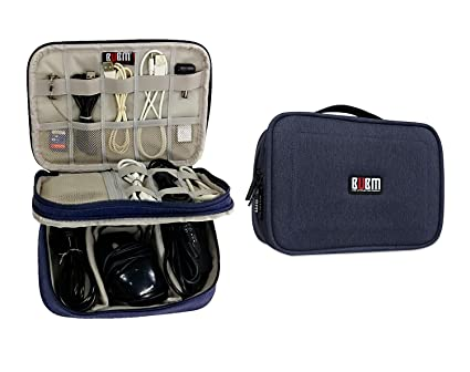046761d9d31f Amazon.com   Electronics Travel Organizer-BUBM Universal Waterproof ...