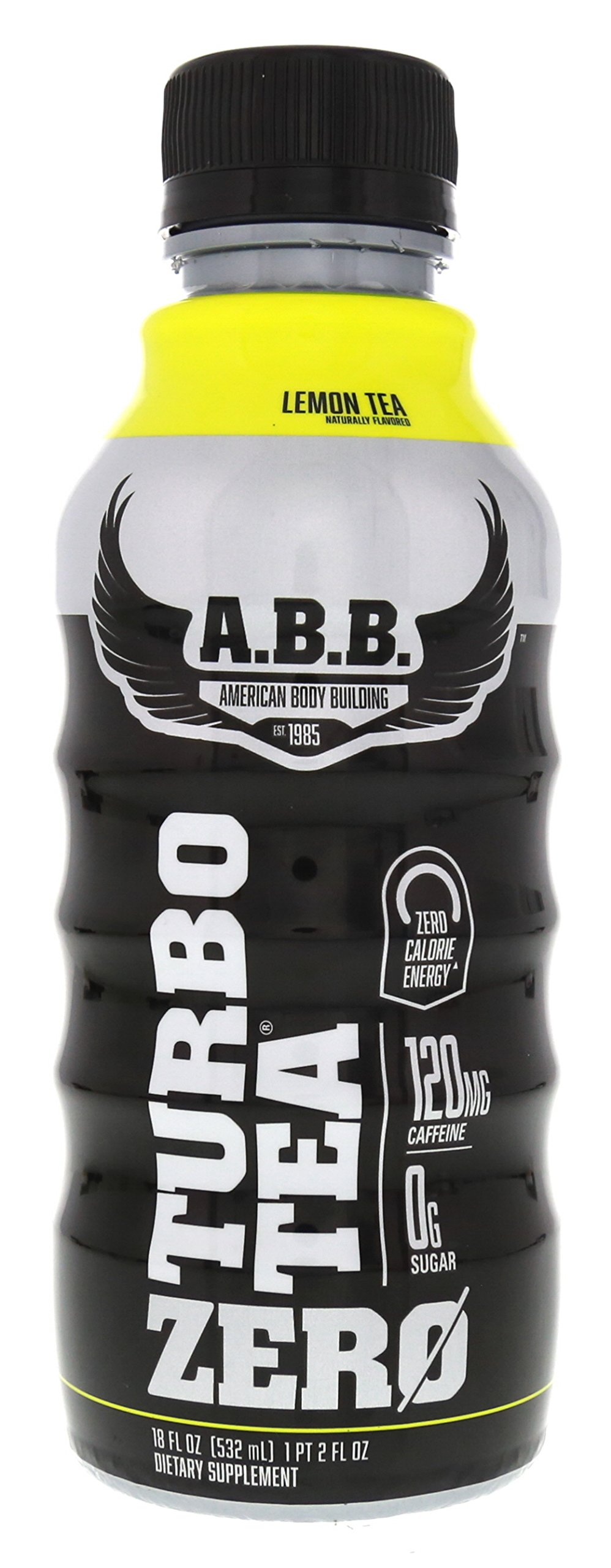 ABB Turbo Zero Tea 12/18oz Bottles Lemon Tea by ABB (Image #2)