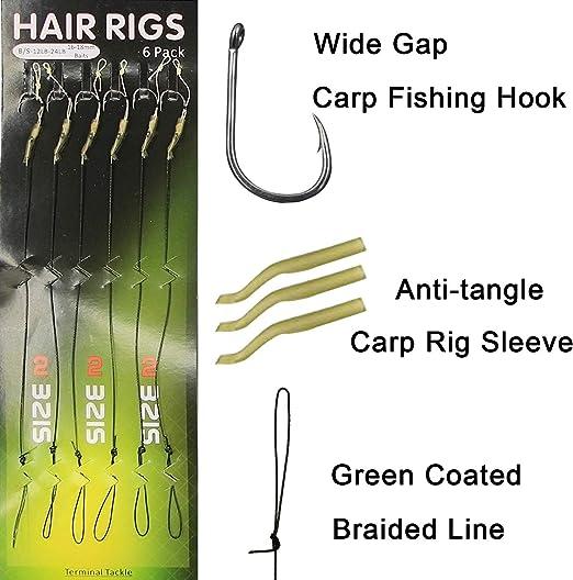 MOD FLEXI CLIP LINK CARP FISHING MATT BLACK  CARP RIGS