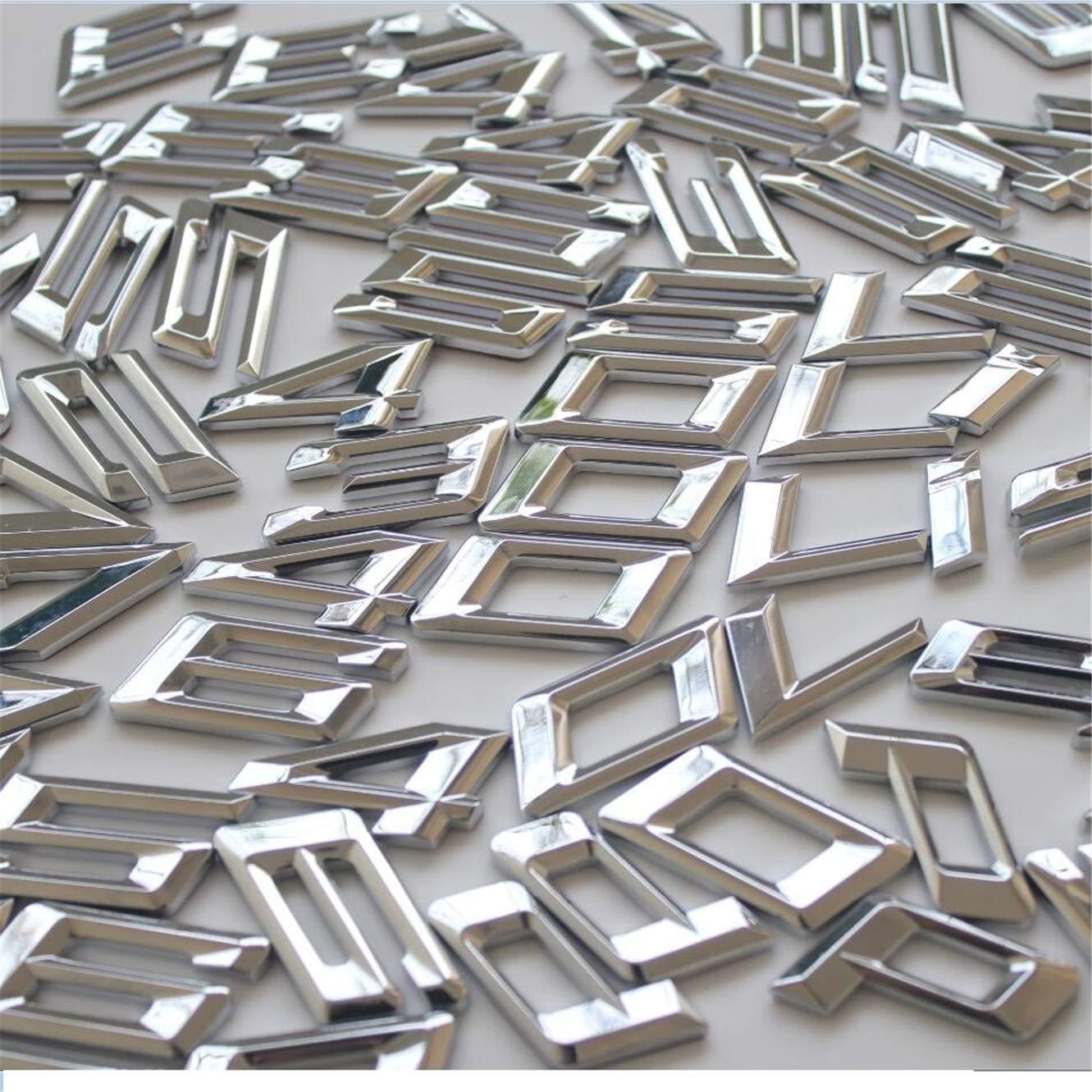 Chrome Letras Tronco Emblema Emblemas Distintivos y S/ímbolos G30 G31 520i 528i 530i 540i 550i 525d 528d 530d 520d 550d 540d XDrive 520d