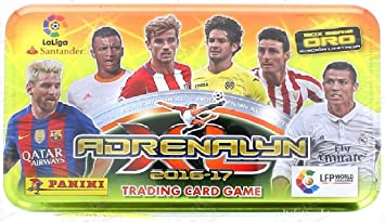 Tin Box Adrenalyn Panini Española League La Liga ...