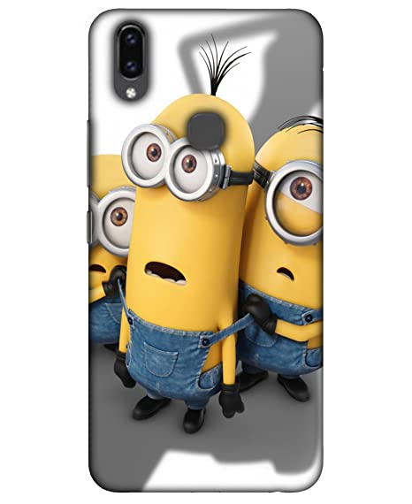 the latest 8465b 8a7a2 TREECASE Minion Printed Back Case Cover For Vivo V9: Amazon.in ...
