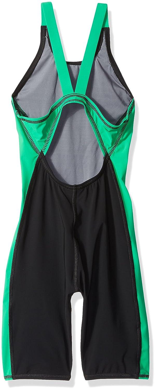 1f7d2711bb932 Buy Speedo PowerPLUS Kneeskin Female Youth Black Green 20 Online at Low  Prices in India - Amazon.in
