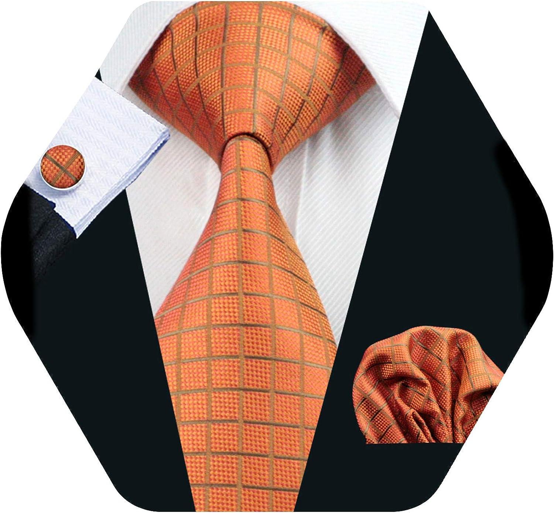 Barry.Wang Pañuelo de bolsillo de corbata de seda azul claro para ...