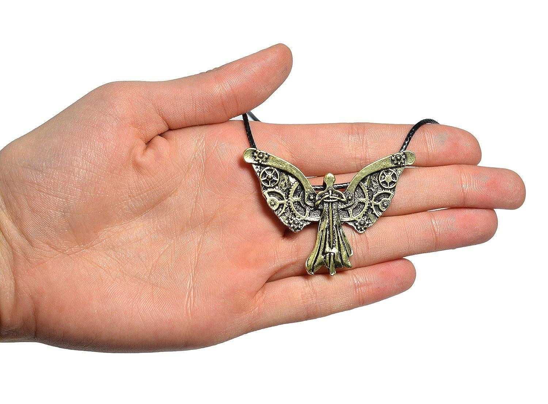 The Mortal Instruments City of Bones Tessa's Clockwork Angel Necklace Pendant SHADOWHUNTER Angelic Clary Fray 3mPz9C9R0