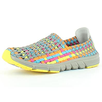 8b7e6aff7a0f Heavenly Feet Heavenly Feet - Heavenly Feet Stomp Grey Multi Shoes ...