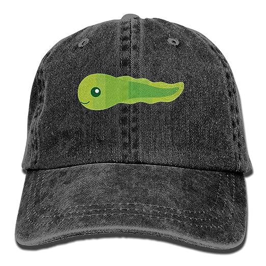 Green Tadpole Vintage Jeans Baseball Cap Outdoor Sports Hat For Men ... 4ca3da81fe9