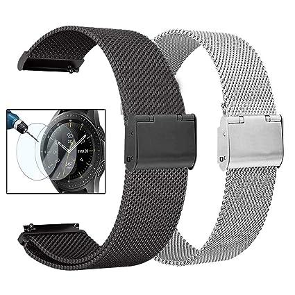 Amazon.com: Valkit - Correa de repuesto para Galaxy Watch de ...