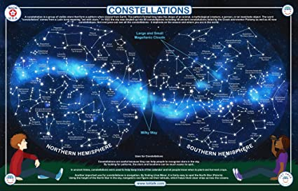 877ad8be1262 Amazon.com: Tot Talk Constellations Educational Placemat for Kids ...