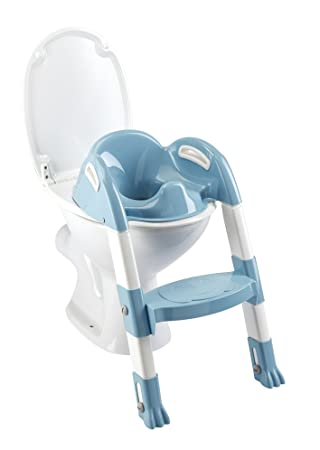Thermobaby 2172538ALL Kiddyloo Toiletten-Trainer, weiß/blau