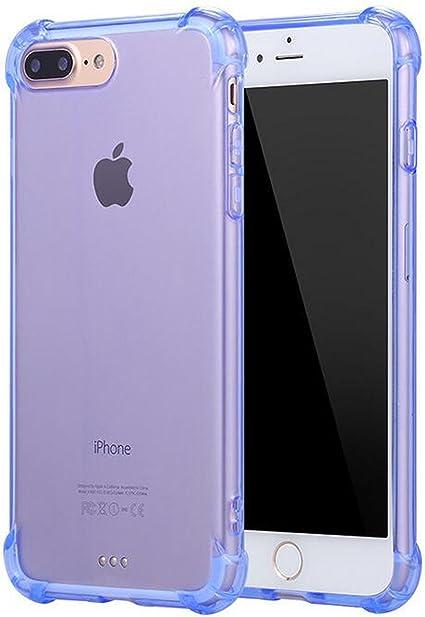 SKYEARMAN Coque iPhone 6/6s Protection Écran, 2-en-1 360°Toute Silicone Doux-TPU Transparent Housse Etui Coque de Protection avec Renforcer 4-Coins ...