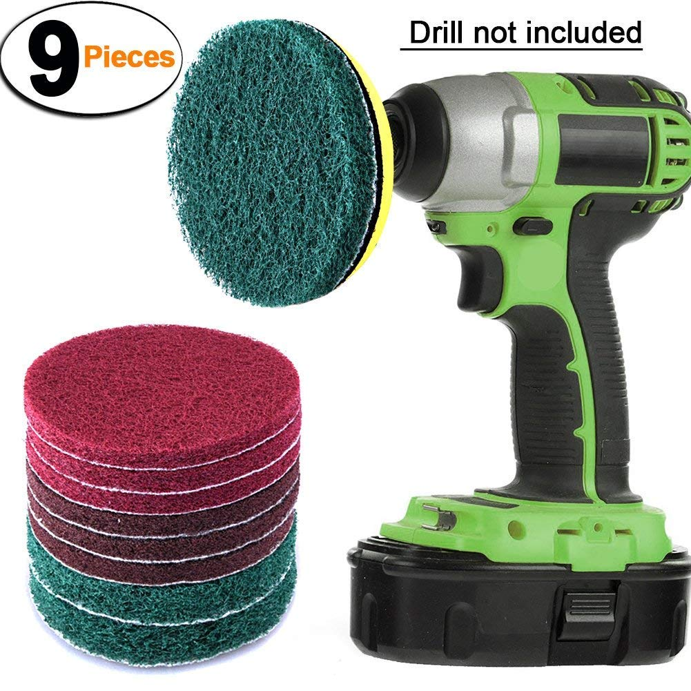 Amazon Com Drill Brush Set Power Scrubber Brush Cleaning
