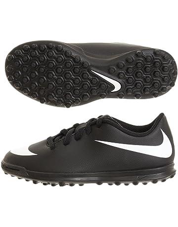 buy online 3852c a5bac Nike Jr Bravata II Tf, Scarpe da Calcetto Indoor Unisex-Bambini, Nero White