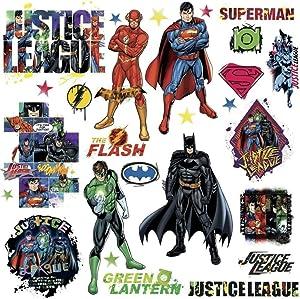 Defonia Justice League 28 Wall Decals Room Decor Stickers Dc Comics New