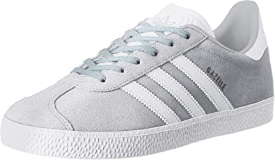 adidas Gazelle Garcon Baskets Mode Gris