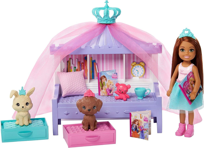 Barbie- Conjunto DE Juego Y MUÑECA DE Princess Adventure (Mattel GML74)