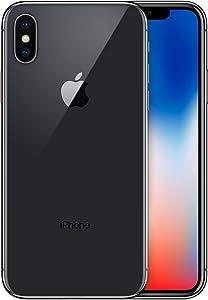 Apple iPhone X, Boost Mobile, 64GB - Gray - (Renewed)