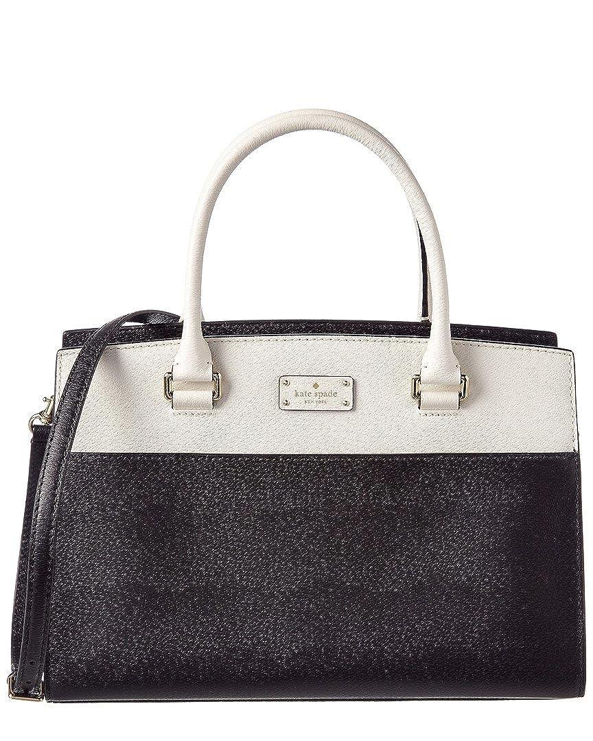 Kate Spade New York Grove Street Caley Leather Satchel, Black 00_VJOFQYVE_02
