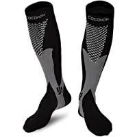 COCOHOK Compression Socks for Men & Women, Ideal for Sport, Running, Work, Flight, Increase Performance, Stamina, Circulation and Recovery