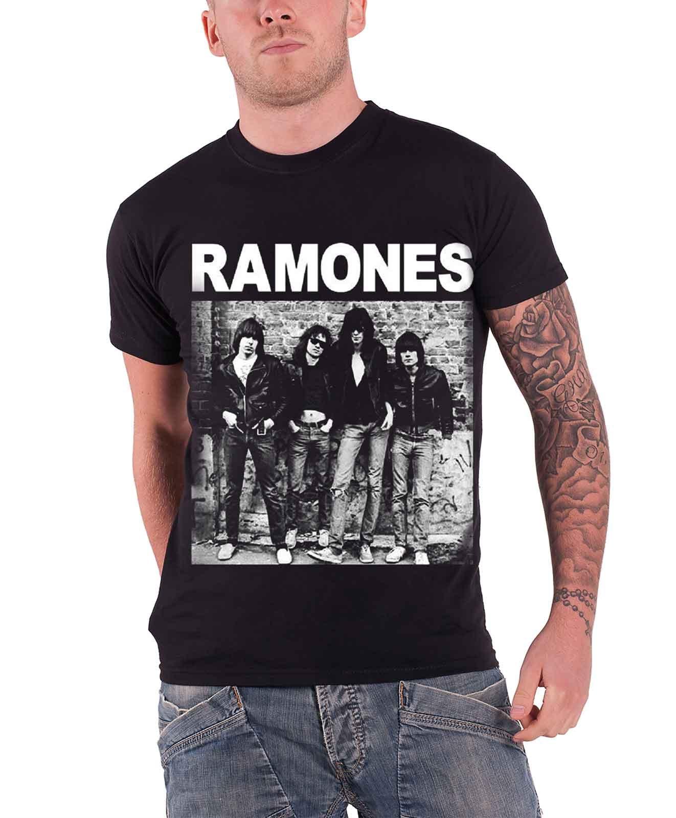 Ramones 1st Album New Official Mens Black T Shirt