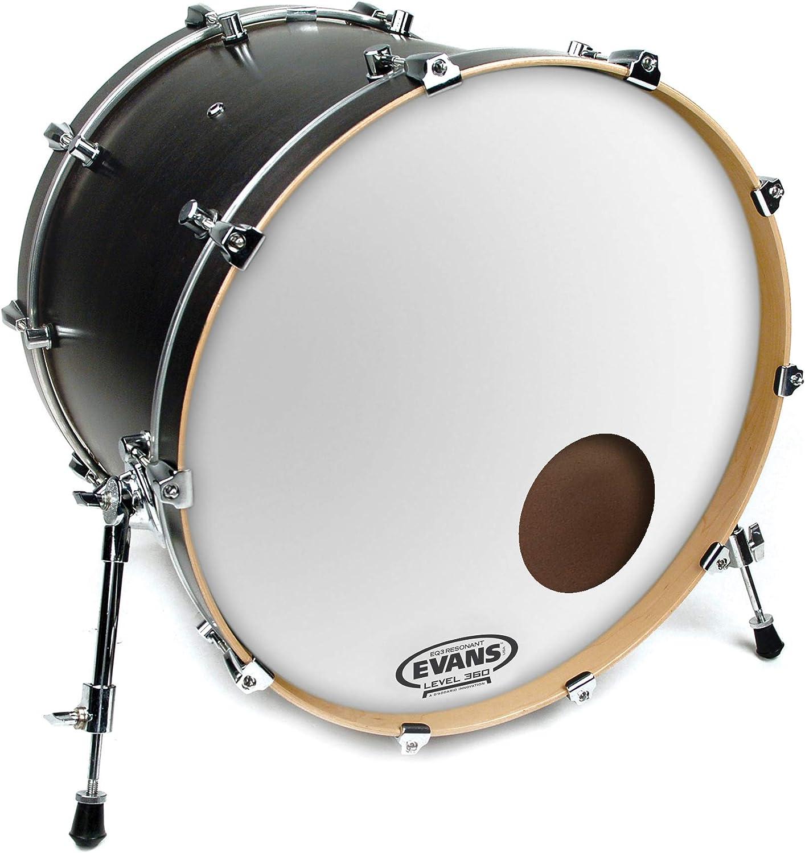 Evans EQ3 Resonant Black Bass Drum Head 26 Inch
