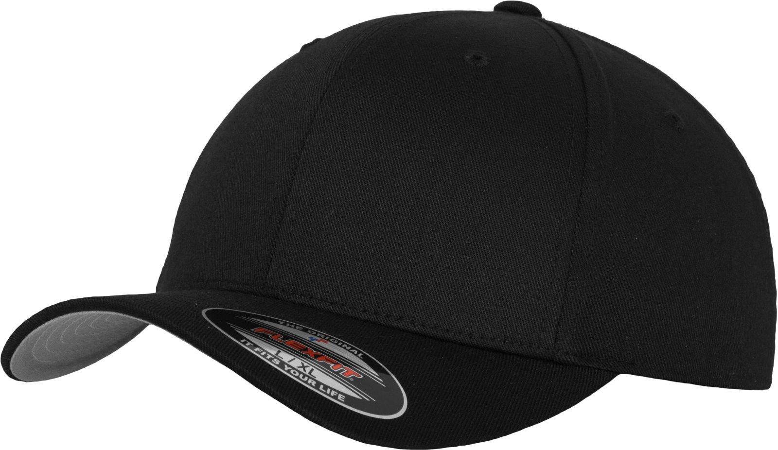 2154a0ce3b390a Flexfit Baseball Cap Wooly Combed - Unisex Kappe ohne Verschluss für  Herren, Damen und Kinder