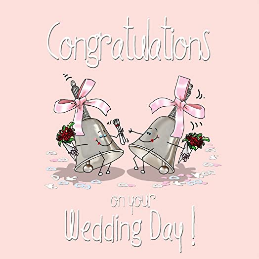Congratulations On Your Wedding Day Greetings Card Gay Same Sex Marriage