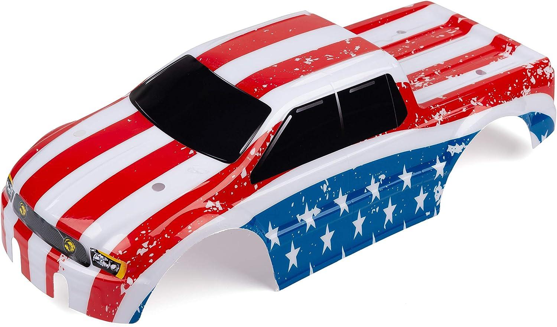 SummitLink Custom Body USA Flag Style Compatible for T E Maxx Shell Cover E-Maxx