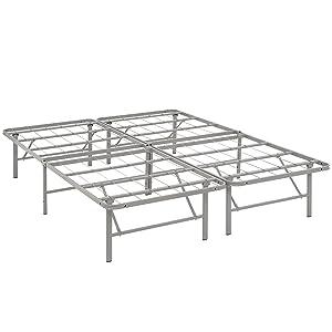 Modway Horizon Full Bed Frame in Gray