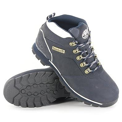 004ede2d0 Timberland 6569R Split Rock 2 Navy Nubuck Mens Boots Size 9 UK   Amazon.co.uk  Shoes   Bags