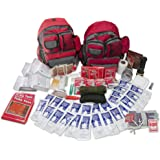 Emergency Zone 4 Person Family Prep 72 Hour Survival Kit/Go-Bag   Perfect Way to Prepare Your Family   Be Ready for Disasters