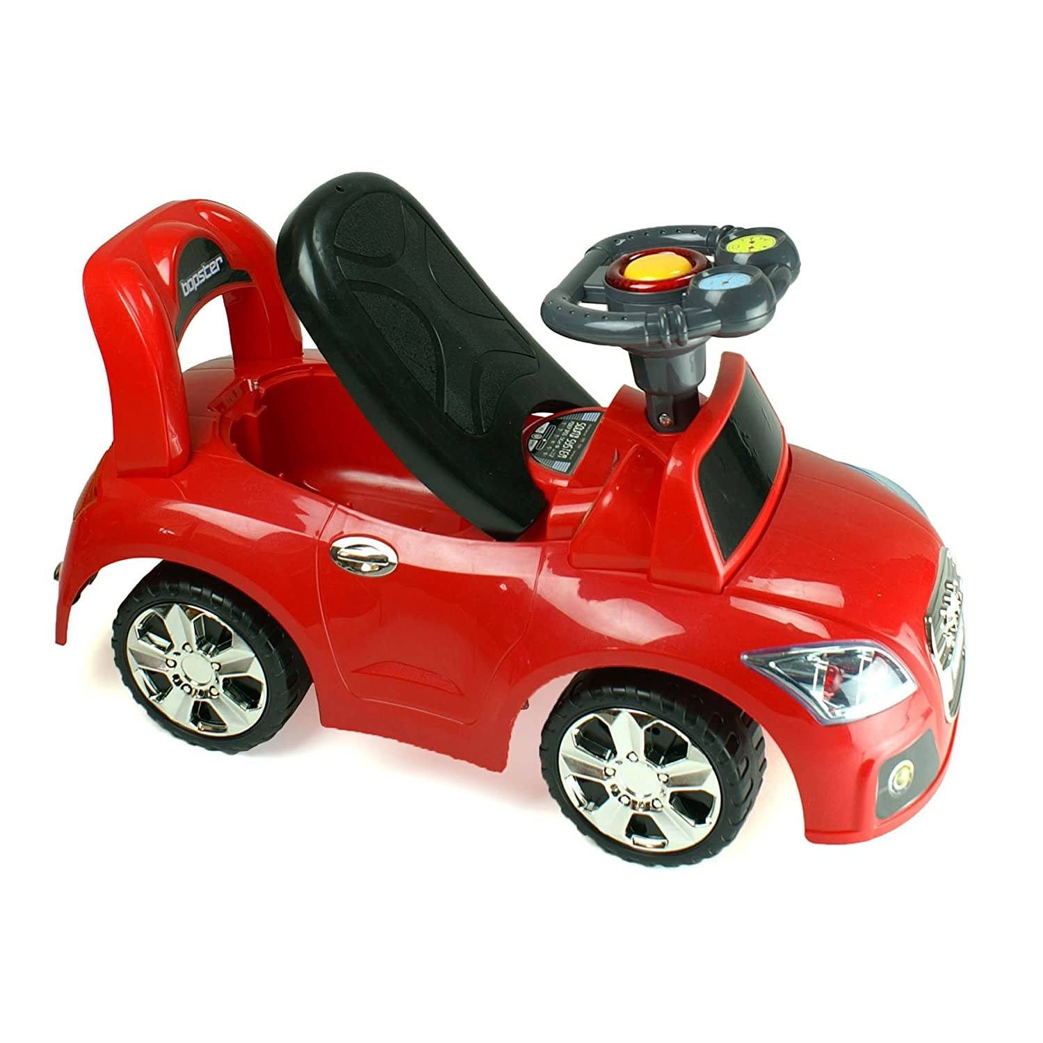 Amazon.com: Bopster Ride On Sports Car 12-36 Months - BMW Blue: Toys & Games