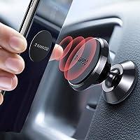 RANVOO Handyhalterung Auto Magnet, Universal Metall 360 ° Einstellbar KFZ Handy Smartphone Halterung für iPhone 11 Pro/11/11 Pro Max/XS/X/XR, Galaxy S10/S9+/ S8, P30, GPS-Geräte usw.-Schwarz