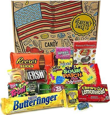 Mini caja de American Candy | Caja de caramelos y Chucherias ...