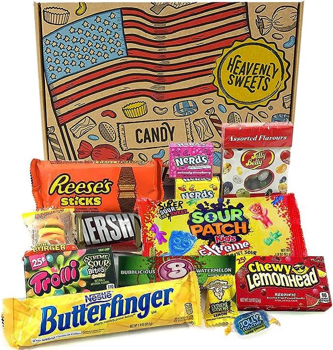 Mini caja de American Candy   Caja de caramelos y Chucherias ...