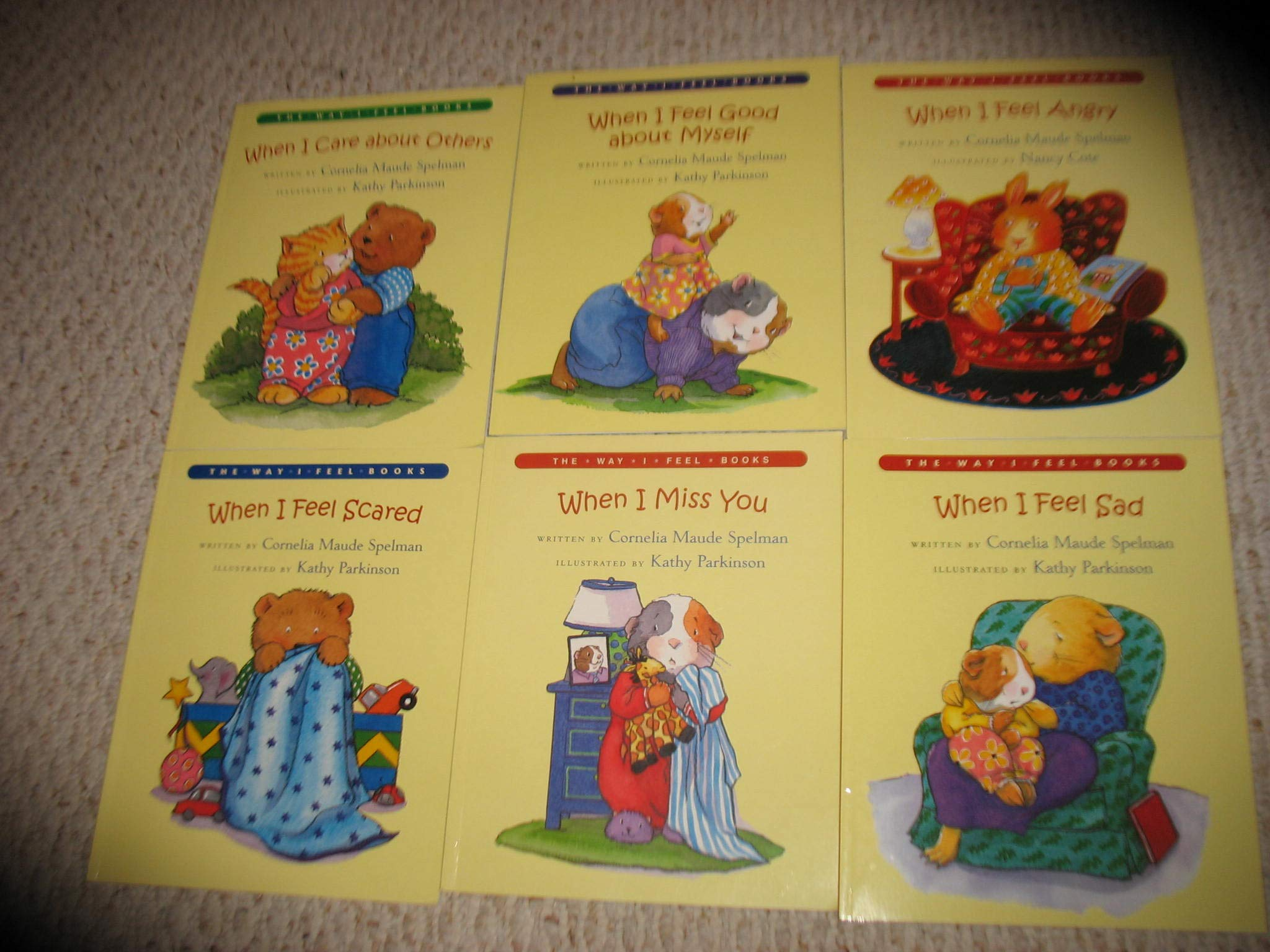 The Way I Feel Set: Cornelia Maude Spelman, Nancy Cote, Kathy Parkinson:  9781597952040: Amazon.com: Books