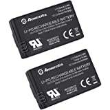 Powerextra 2 Pack 3.7V 650mAh LiPo Battery for Parrot MiniDrones Jumping Sumo, Rolling Spider, Air Night Drone, Airborne Cargo Drone, Jumping Race Drone, Night Hydrofoil Drone - Upgrade