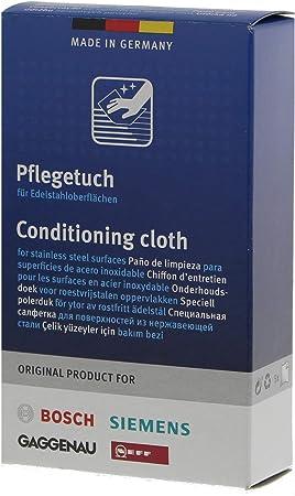 Bosch/Siemens 00311944 - Toallita para limpiar acero, paquete de 5 unidades: Amazon.es: Hogar