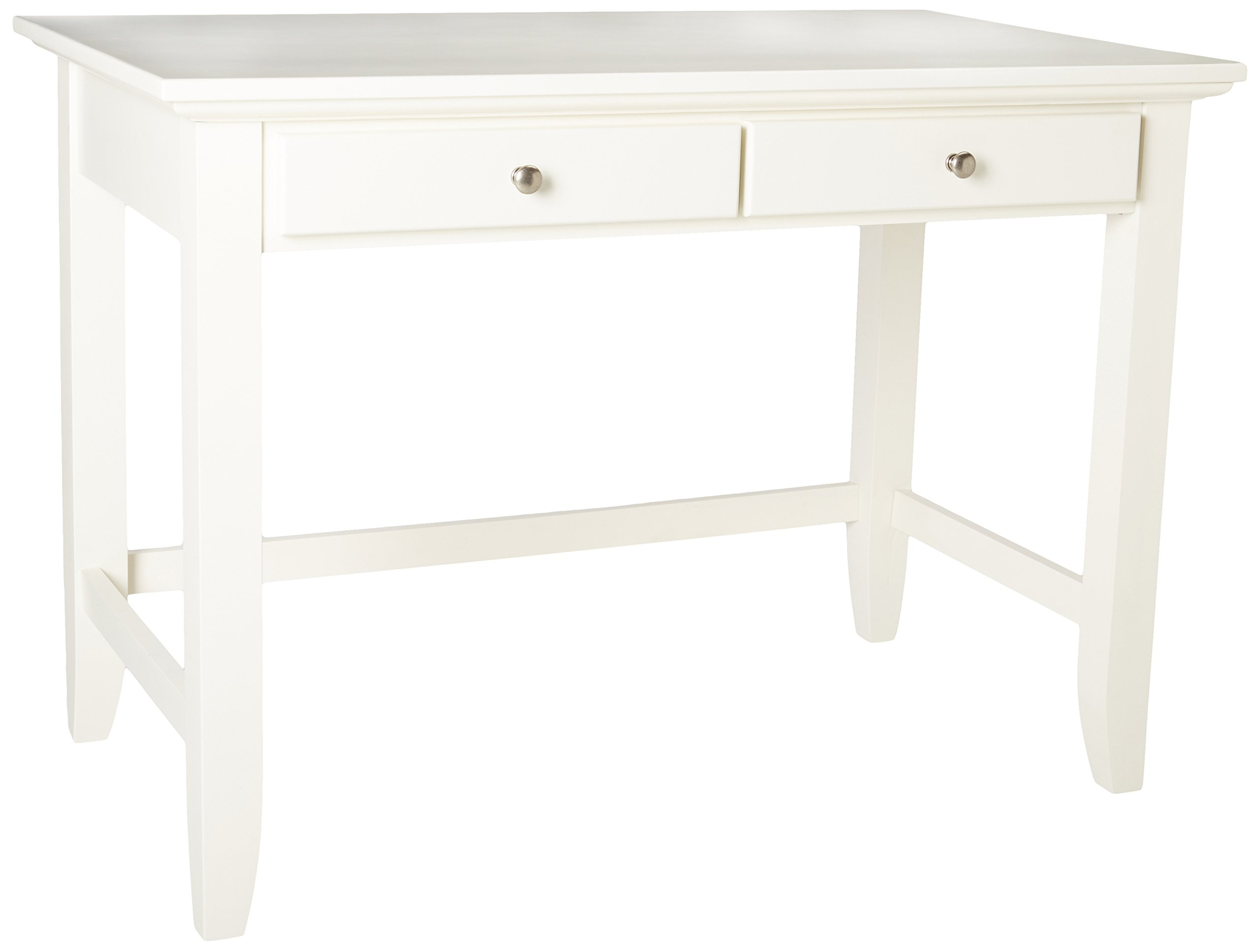 Home Styles 5530-16 Naples Student Desk, White Finish by Home Styles