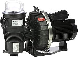 Pentair CHII-N1-1-1/2A Challenger Standard Efficiency Single Speed Up Rated High Pressure Inground Pump, 1-1/2 HP