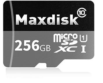 MaxDisk 256 GB Micro SD SDXC tarjeta de memoria de alta ...