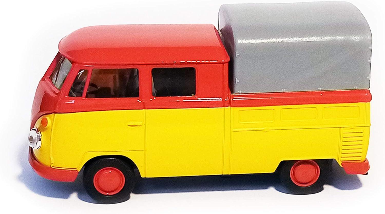 VOLKSWAGEN T1 Doppelkabine PICK UP VW Bulli Modell Modellauto Spielzeugauto 53