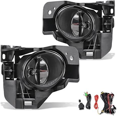 Add On Upgrade Clear Lens Fog Light Switch Wiring Kit Set for Maxima Brand New