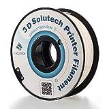3D Solutech Real White 1.75mm Flexible 3D Printer