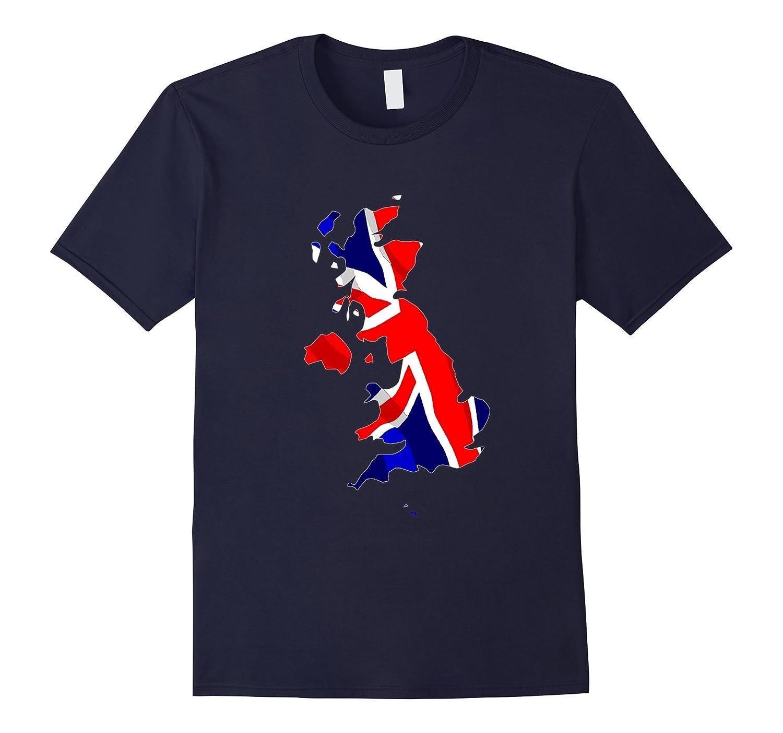 UK Flag T Shirt - Cool Flag Shirt