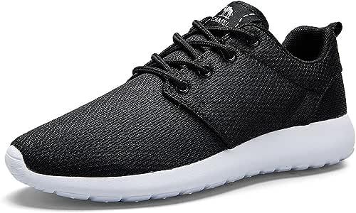 CAMEL CROWN Zapatos Deportivos para Hombres Zapatillas Running Ligeras Calzado Casual de Malla para Atletismo Caminar Correr Tenis Gimnasio al Aire Libre: Amazon.es: Deportes y aire libre