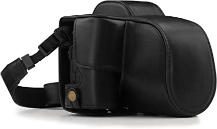 Megagear Canon Eos M50 Ever Ready Leder Kamera Case Kamera