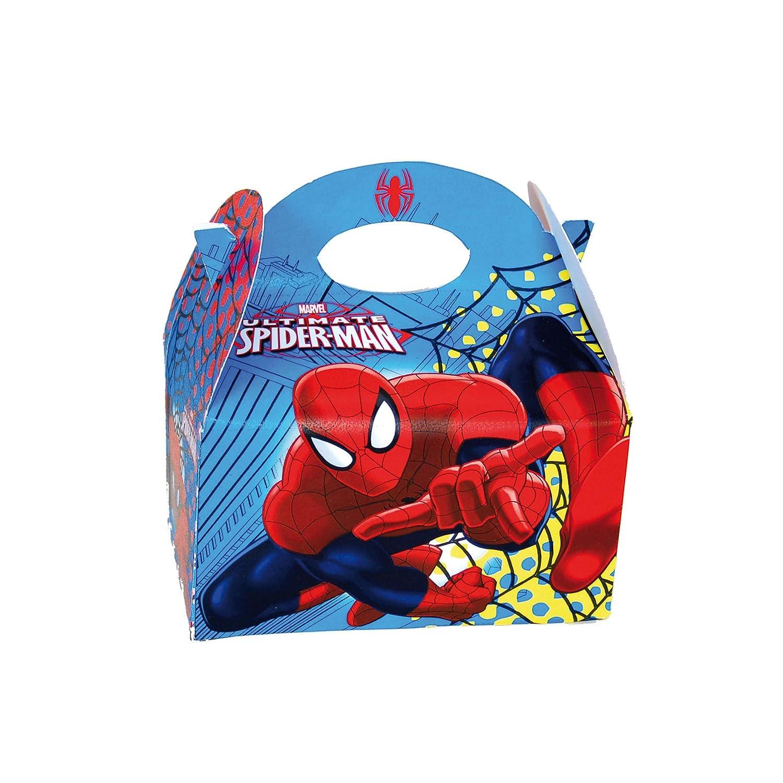 ALMACENESADAN 0657, Pack 4 cajitas de Carton para chuches ...