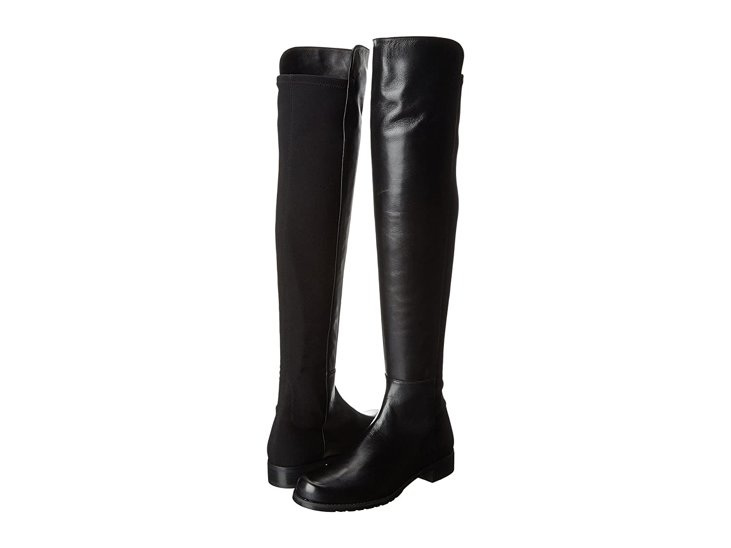 Stuart Weitzman Women's 5050 Over-the-Knee Boot B001O5CR4C 10 W US|Black Nappa